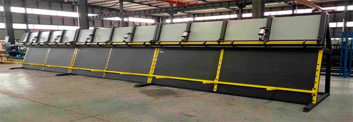 Автоматический прием готовой продукции, секции по 3 метра